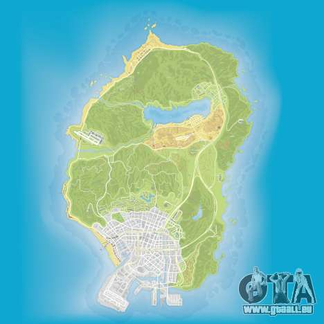 Raumschiff Teile der Karte von GTA 5