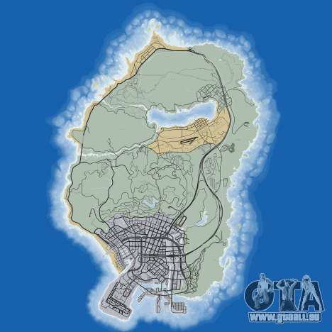 Feuille de route de Grand Theft Auto 5