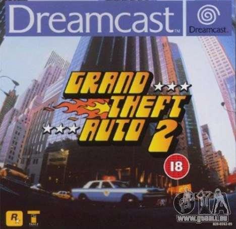 Communiqué de GTA 2 pour Dreamcast en Amérique du Nord: du 20 au 21 siècle