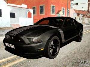 Ford Mustang Boss 302 2013 für GTA San Andreas