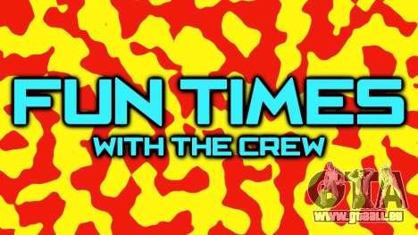 Mai de la mise à jour de la vidéo Crew Rockstar