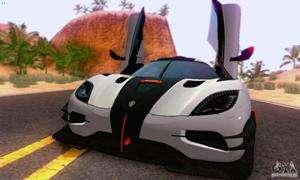 la Koenigsegg One 2014 pour GTA San Andreas