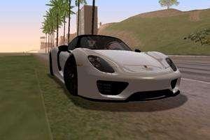 Porsche 918 2013 pour GTA San Andreas