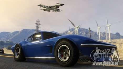 Mise à jour de GTA Online: une école de pilotage