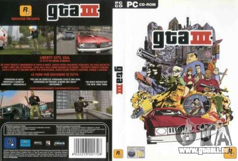 Versionen 2003: GTA 3 für den PC in Japan
