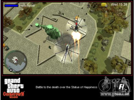 Ausgang GTA CW PSP in Amerika