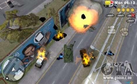 die Europäischen Versionen: GTA CW für die PSP