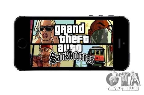 GTA SA pour iOS: anniversaire de la sortie de