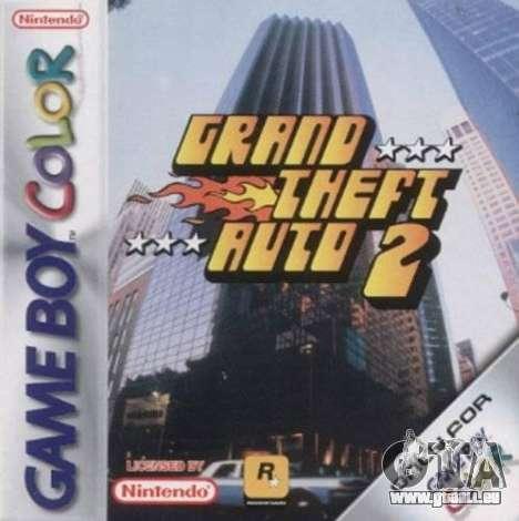 14 Jahre Release von GTA 2 für Game Boy Color in Europa