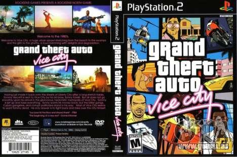 Communiqué de Vice City sur PS2 en Europe et en Australie