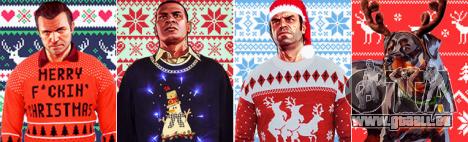 Fan Art GTA 5: le nouvel an des mises à jour