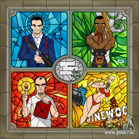 GTA 5 Fan Art: die Ergebnisse des Februar