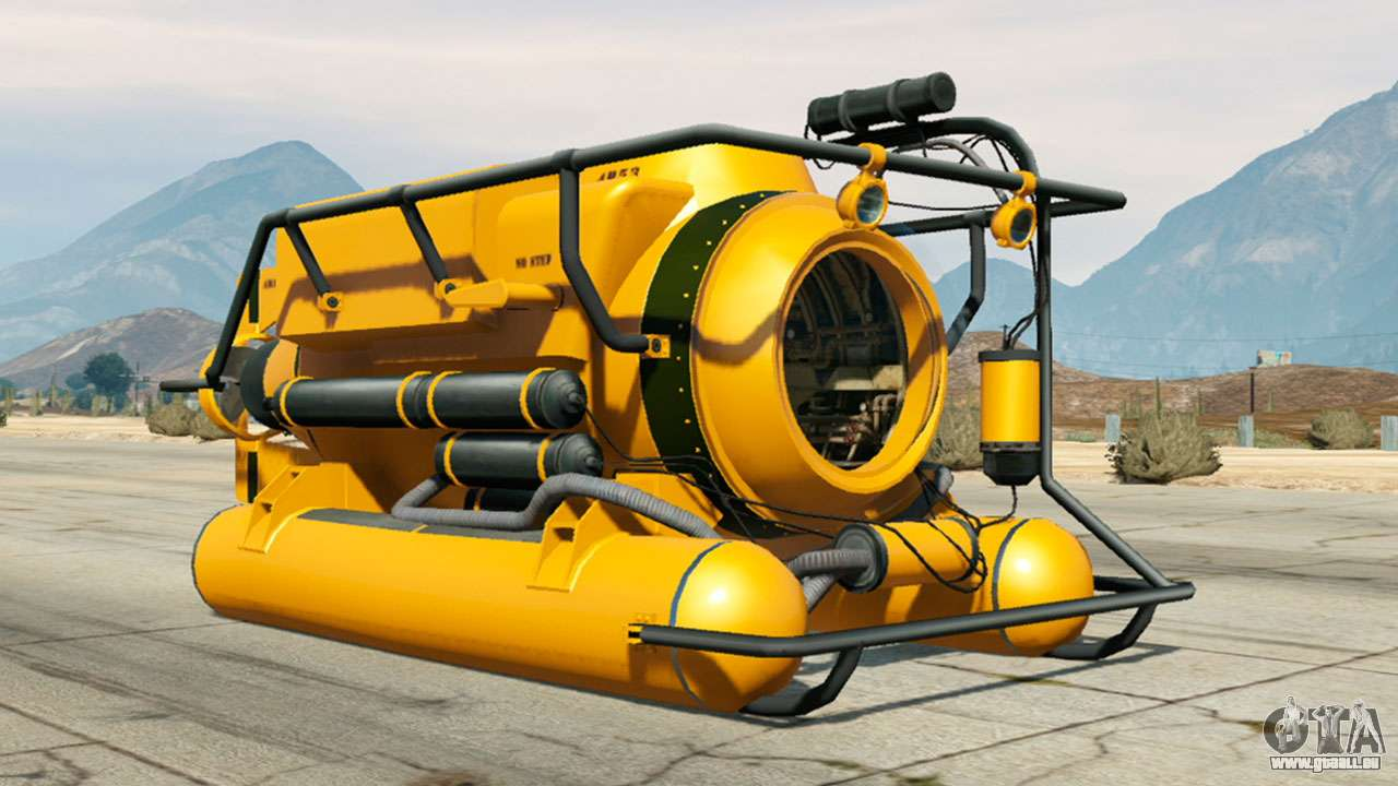 Submersible aus GTA 5