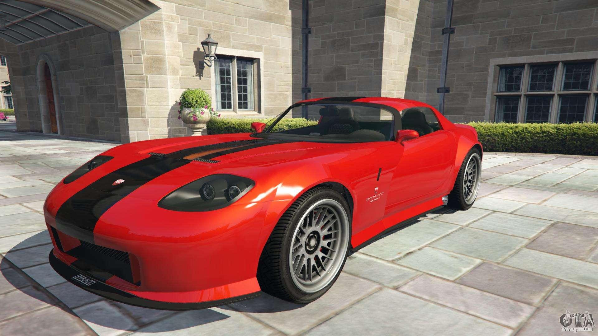 Draufgängertum Banshee aus GTA 5 - Frontansicht
