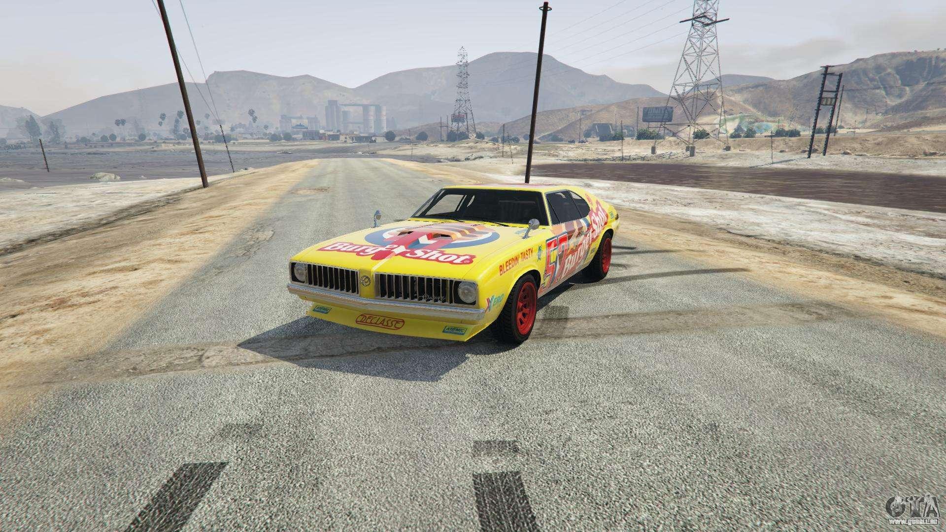 Burger Shot Stallion de GTA 5 - vue de face