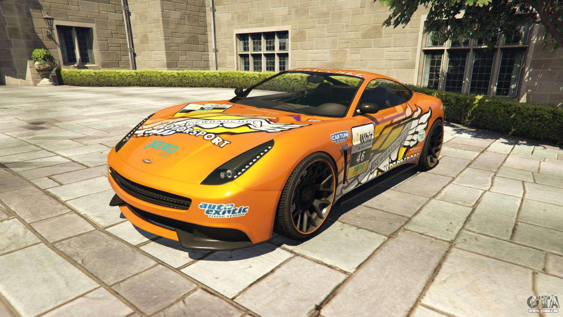 Dewbauchee Massacro Racecar aus GTA 5 - Frontansicht