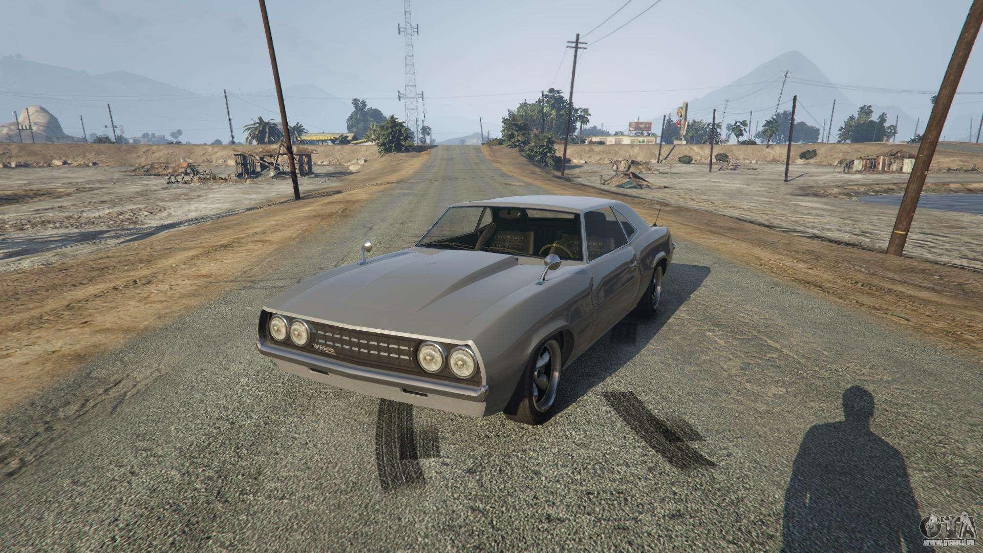 Vigero von GTA 5 - Frontansicht