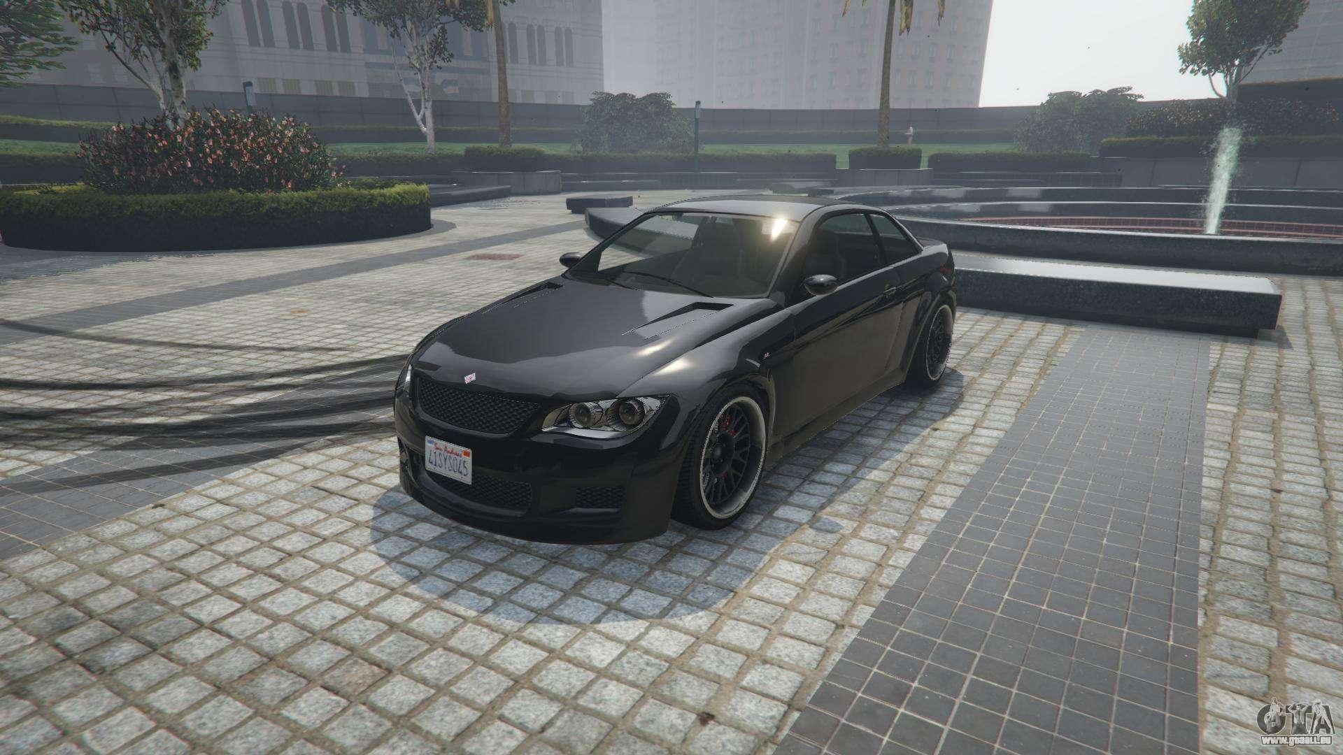 Ubermacht Sentinel XS von GTA 5 - Frontansicht