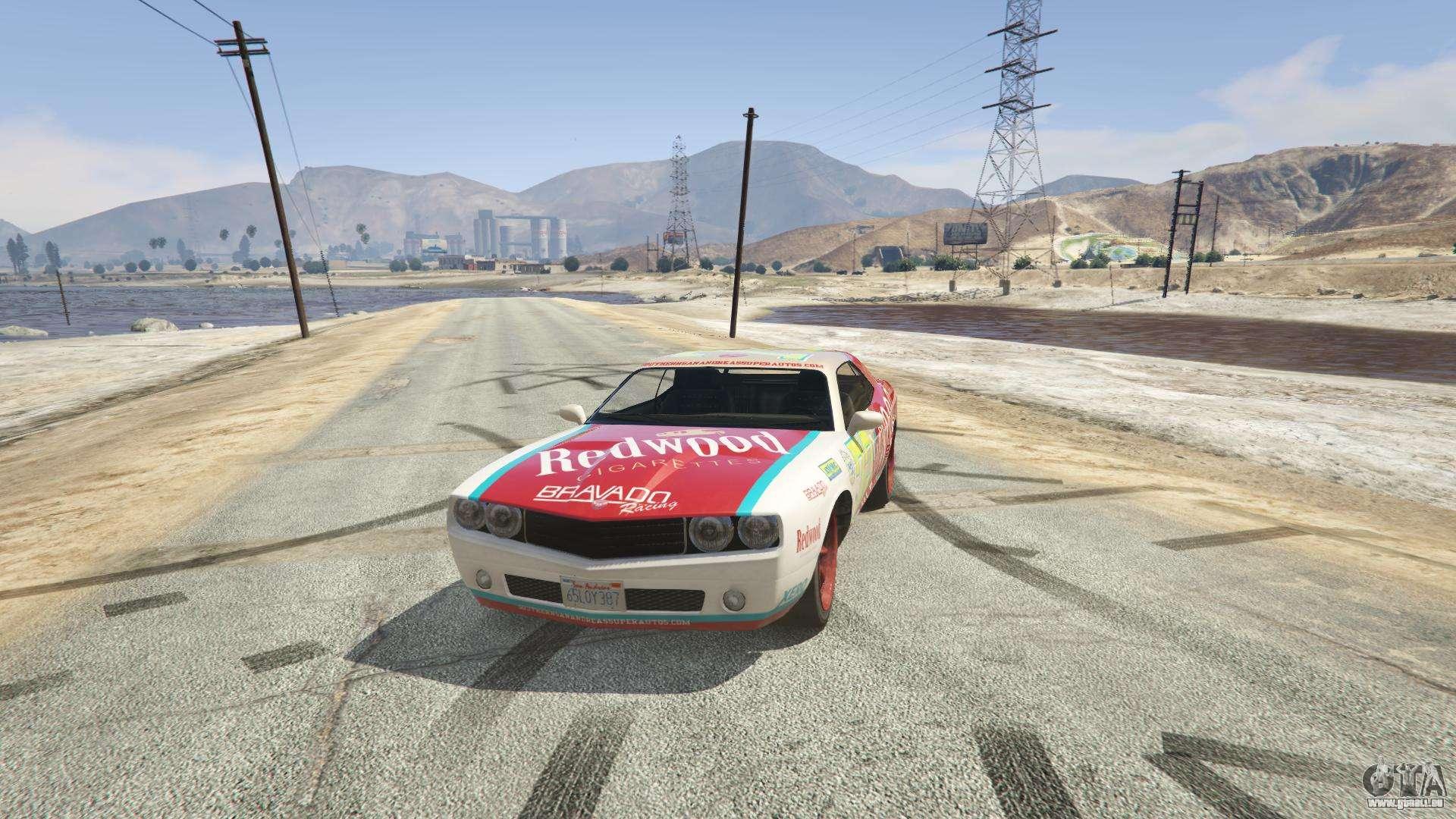 Redwood Gauntlet GTA 5 - Frontansicht