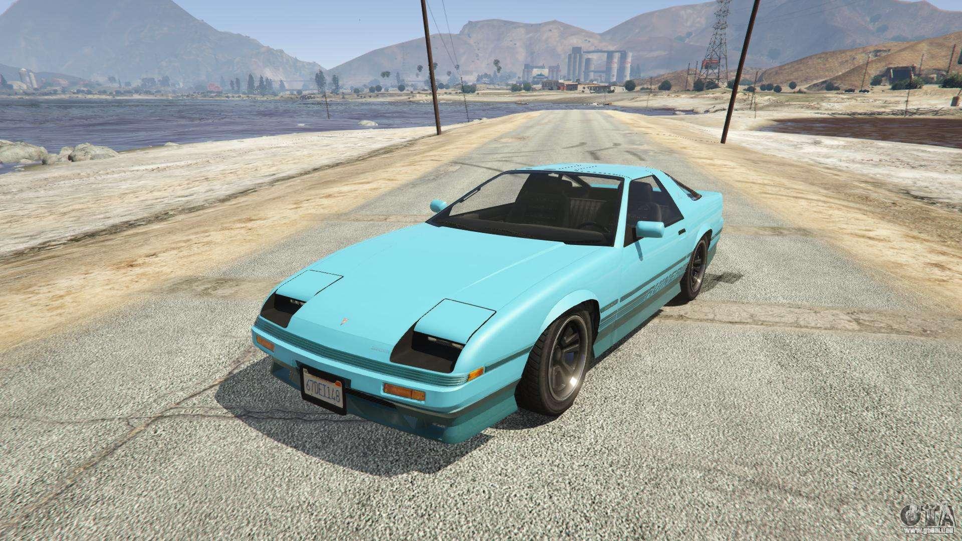 Imponte Ruiner GTA 5 - Frontansicht