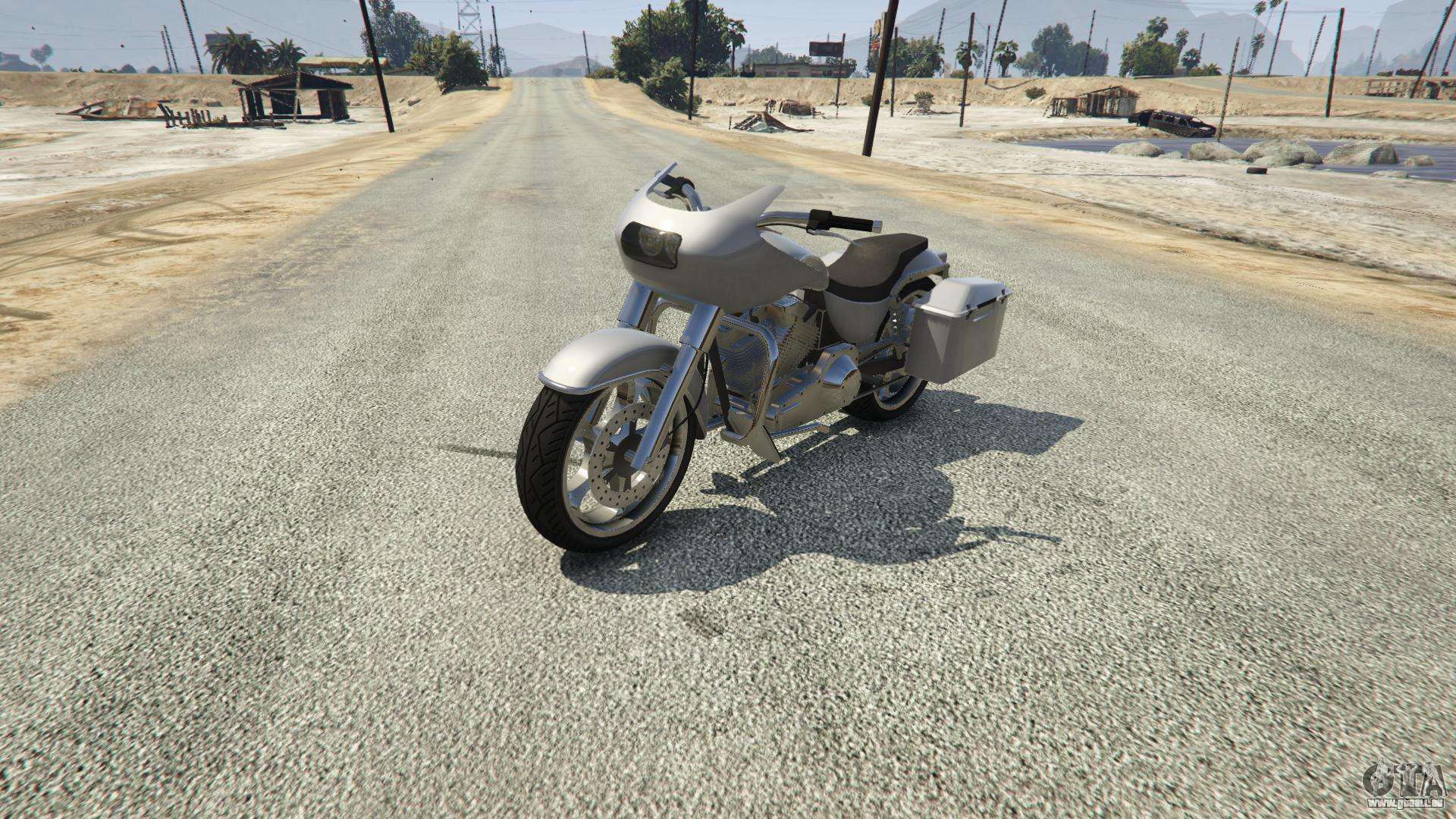 Western Motorcycle Company Bagger aus GTA 5