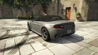 Dewbauchee Rapid GT Cabrio aus dem GTA 5 - Rückansicht