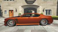 Bravado Buffalo S GTA 5 - vue de côté