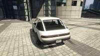 Declasse Rhapsody de GTA 5 - vue de l'arrière