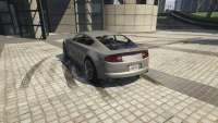 Dewbauchee Version von GTA 5 - Rückansicht