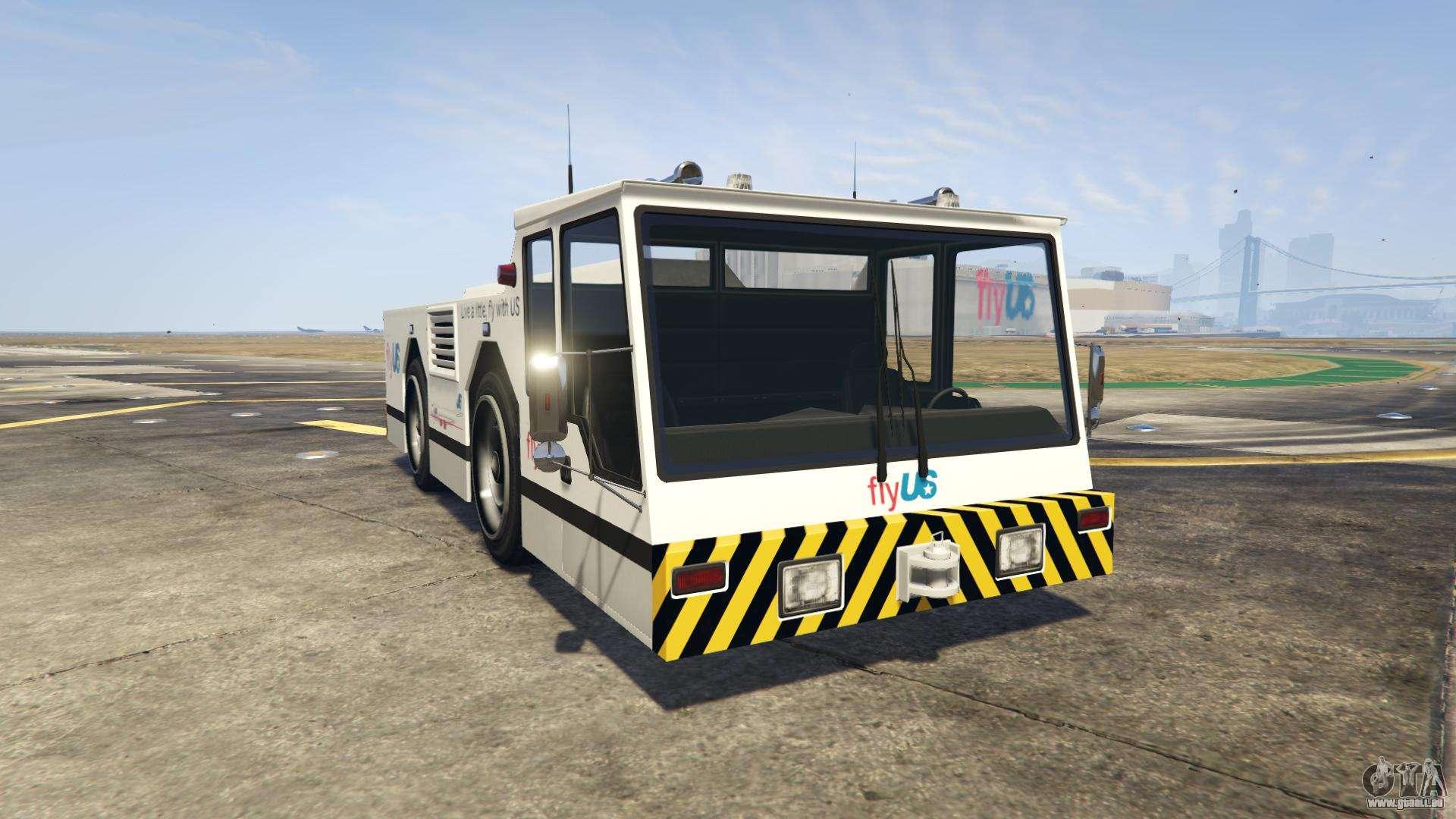 GTA 5 HVY Ripley - vue de face