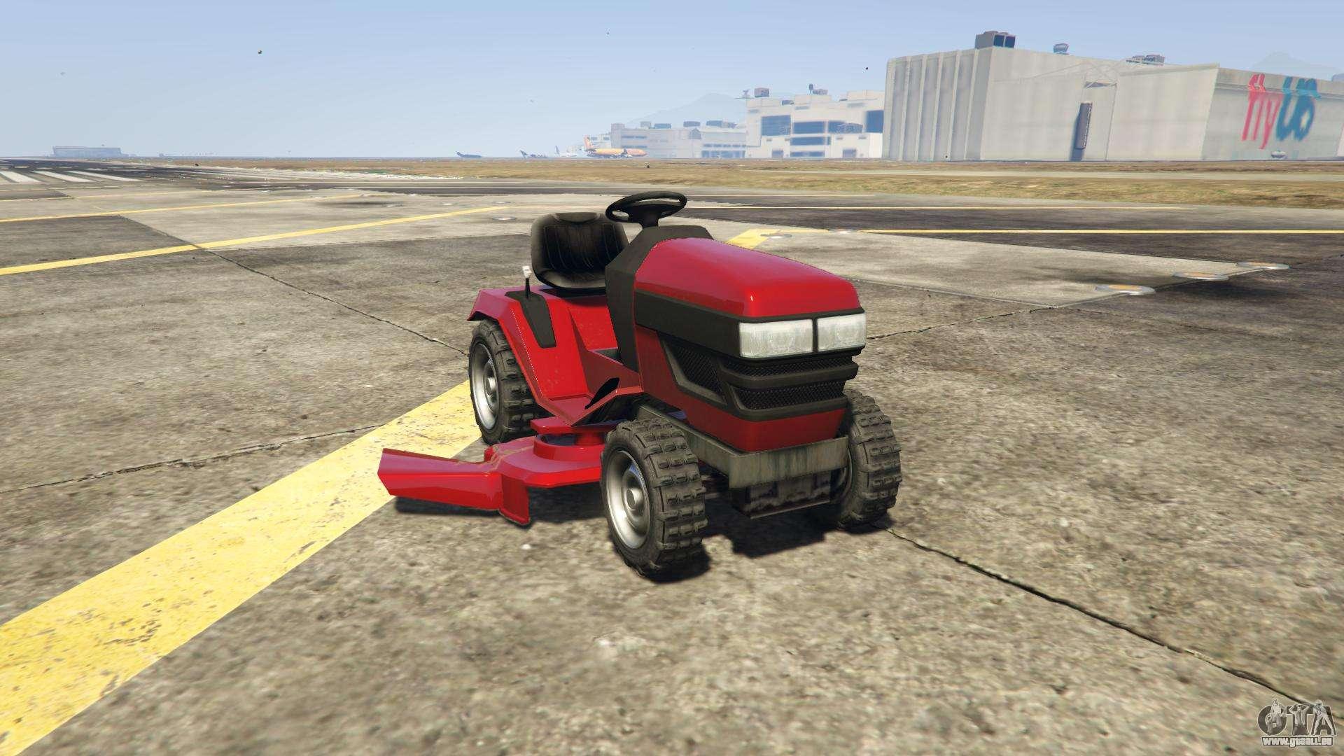GTA 5 Jacksheepe Mower - Frontansicht