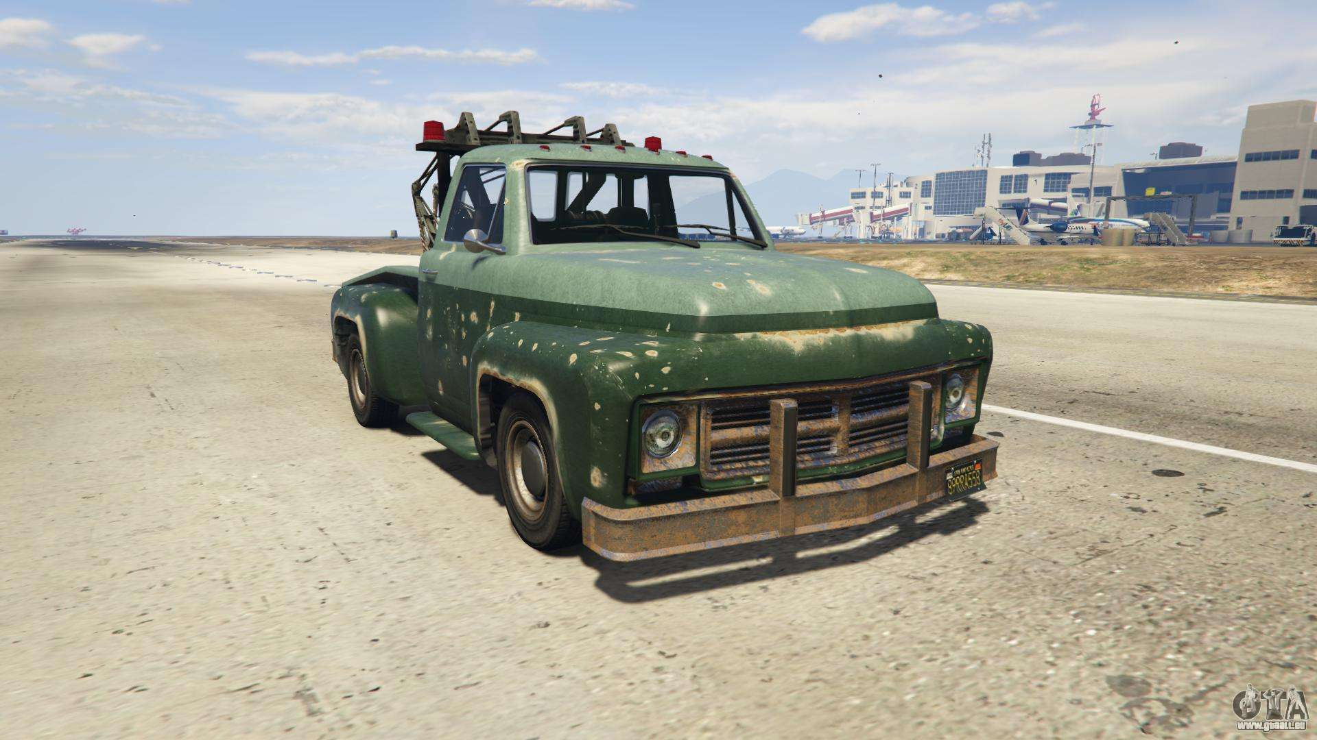 GTA 5 Vapid Tow Truck - vue de face