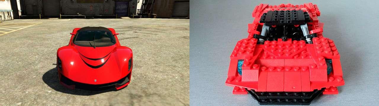 Lego Grotti Turismo R - fron vue