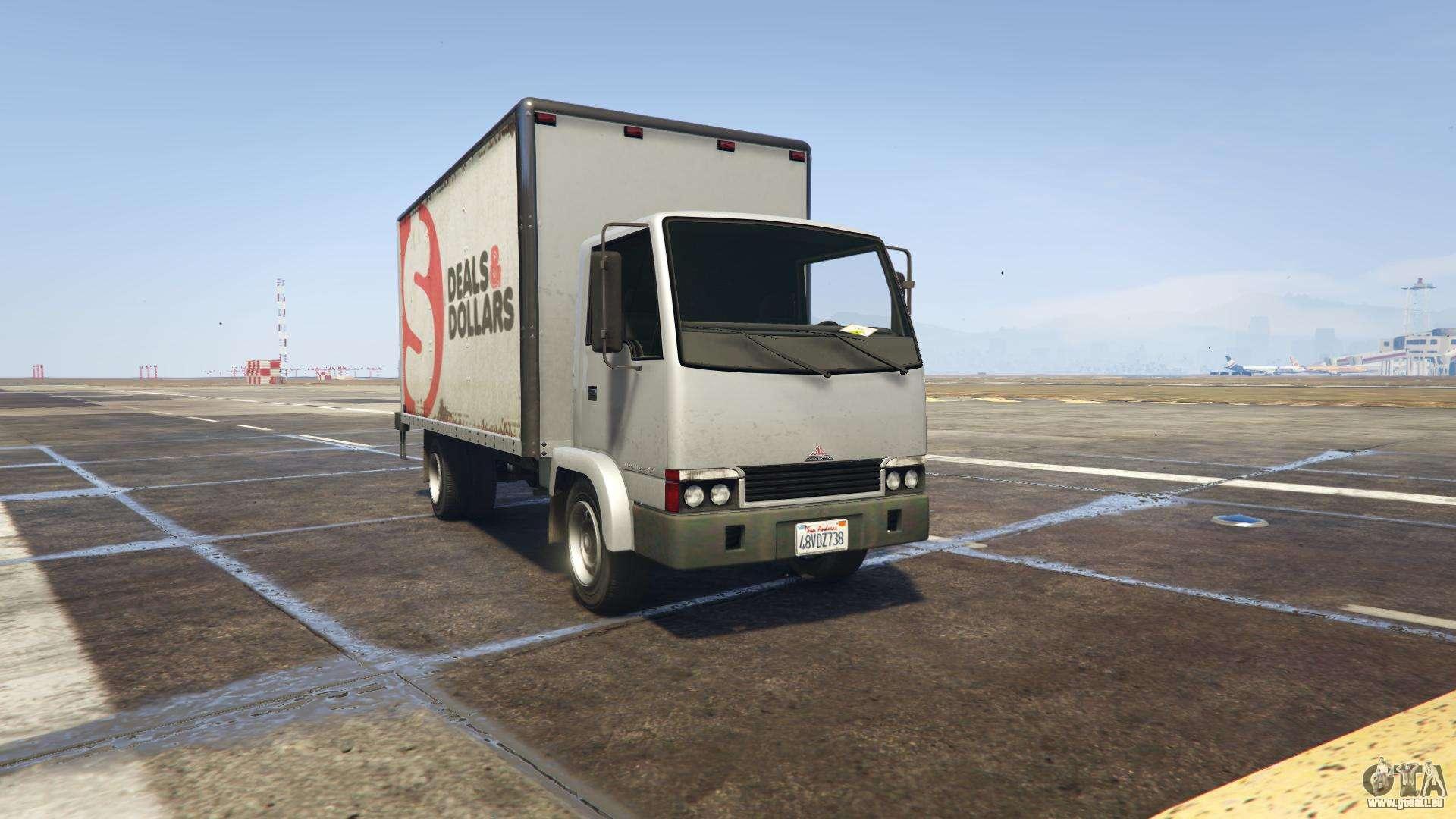 GTA 5 Maibatsu Mule - Frontansicht