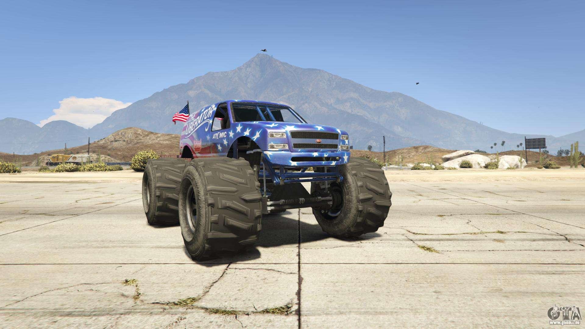 GTA 5 Vapid Liberator - Frontansicht