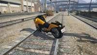 Dinka Vindicator der GTA 5 - Rückansicht
