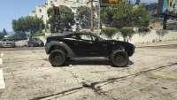 Coil Brawler de GTA 5 - vue de côté