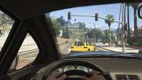 Coil Brawler de GTA 5 - vue depuis le cockpit