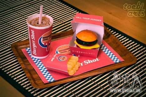 Burger Shot (Candy-Menü)