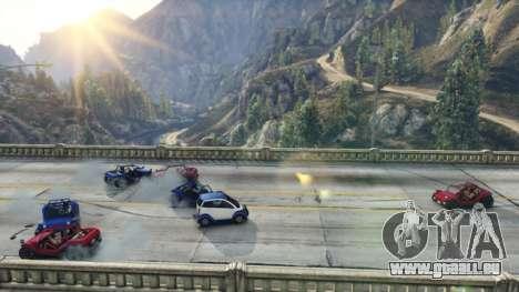 Kampf auf der Brücke