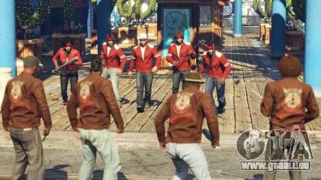 Die Krieger, Gang-Schlägerei