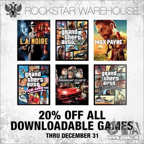 Rabatt im Rockstar Warehouse und Dampf