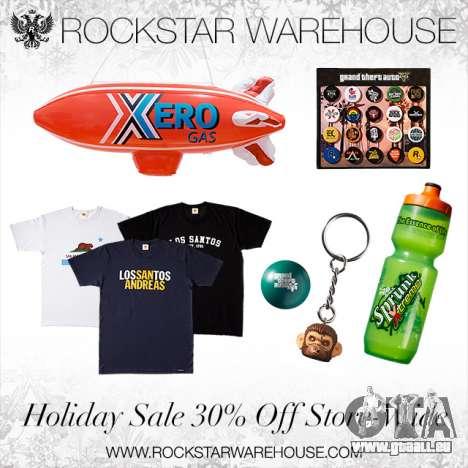 Rockstar Warehouse Réductions