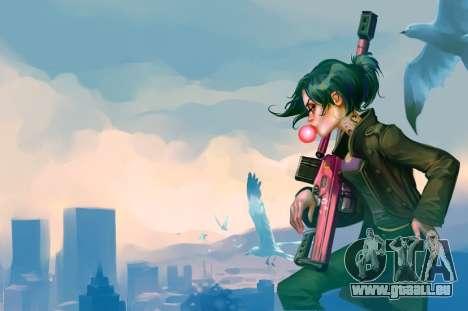 GTA V Online Charakter-Portrait