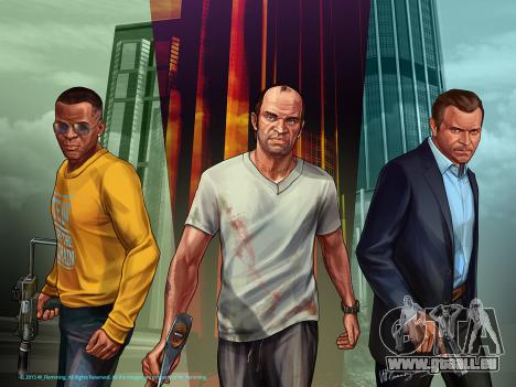 Grand Theft Auto V Protagonisten