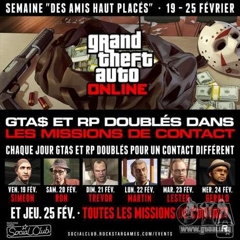Promotions dans GTA Online