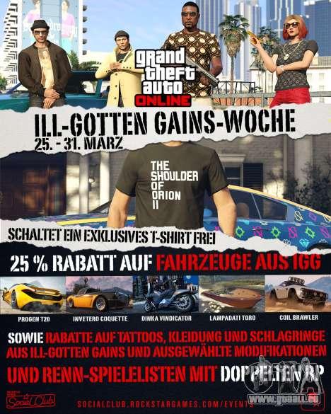 ill Gotten Gains Veranstaltung der Woche in GTA Online