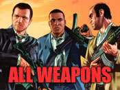 Toutes les armes de triche pour GTA 5 sur PC