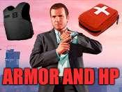 Max de la Sante Et de l'Armure de triche pour GTA 5 sur PC