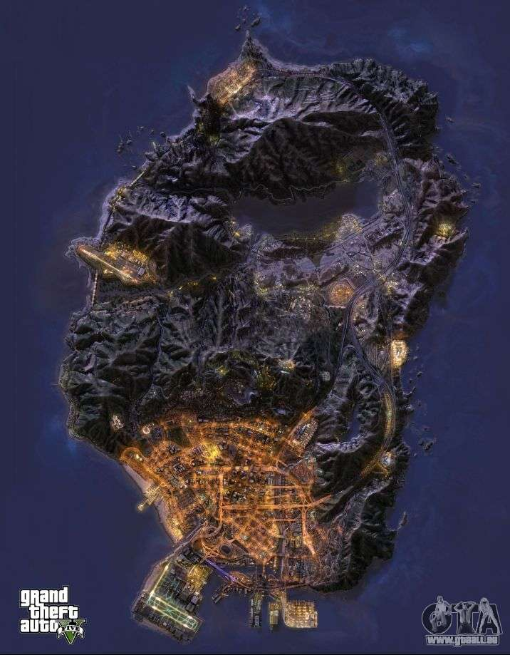 GTA 5 map - dow... Gta V Mods Download For Xbox 360